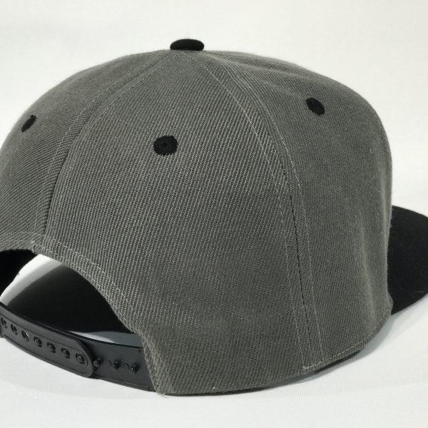 Charcoal/Black Snapback